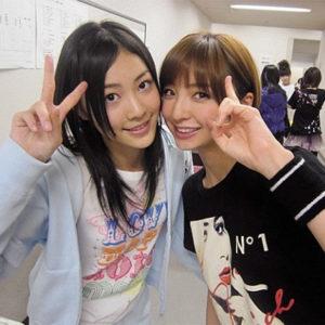 松井珠理奈と篠田麻里子