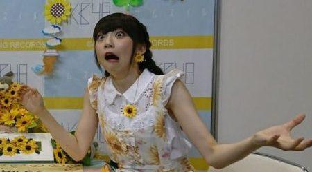 荻野由佳の変顔