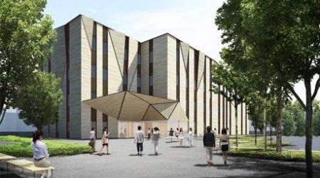 桐朋学園大学の新校舎