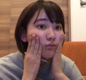宮脇咲良,すっぴん