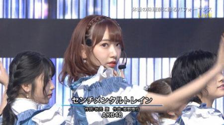 宮脇咲良,センチメンタルトレイン