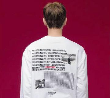 BTS原爆Tシャツ