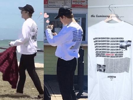 BTS,原爆Tシャツ